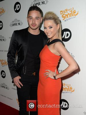 Adam Thomas and Caroline Daly - Once Upon A Smile Grand Ball 2015 at The Hilton Hotel, Manchester - Arrivals...