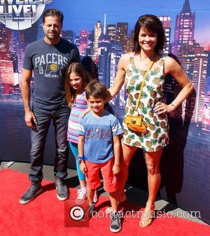 David Charvet, Brooke Burke, Son and Daughter