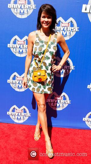 Brooke Burke - Marvel Universe LIVE! 2015 - Arrivals at The Forum - Inglewood, California, United States - Saturday 2nd...