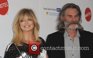 Goldie Hawn and Kurt Russell