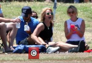Britney Spears, Charlie Ebersol and Jamie Lynn Spears