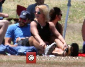 Britney Spears, Jamie Lynn Spears and Charlie Ebersol