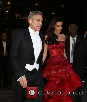 "George Clooney Praises ""Amazing"" Wife Amal As He Promotes Latest Movie 'Tomorrowland'"