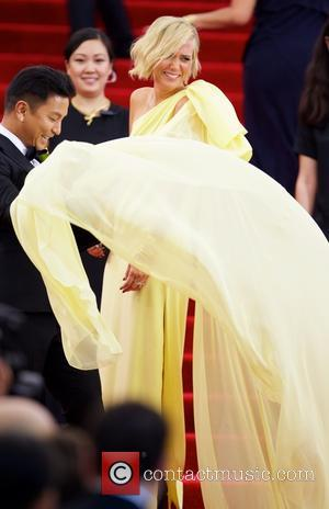 Kristen Wiig and Prabal Gurung - Met Gala - 'China: Through The Looking Glass' Costume Institute Benefit Gala at the...