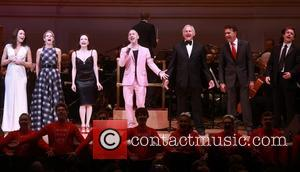 Laura Benanti, Kelli O'hara, Bebe Neuwirth, Alan Cumming, Victor Garber, Brian Stokes Mitchell and James Snyder