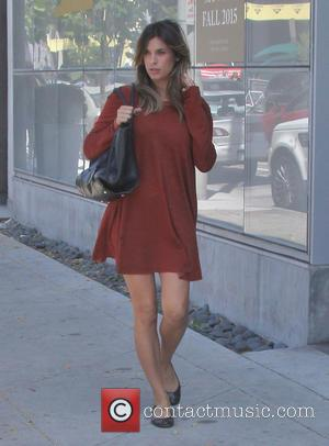 Elisabetta Canalis - Elisabetta Canalis out and about in Los Angeles - Los Angeles, California, United States - Monday 4th...