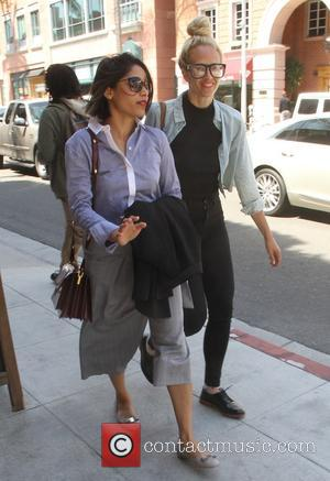 Freida Pinto - Freida Pinto shopping with a friend in Beverly Hills - Los Angeles, California, United States - Monday...