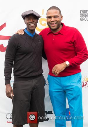 Don Cheadle and Anthony Anderson - The eighth annual George Lopez Celebrity Golf Classic presented by Sabra - Arrivals at...