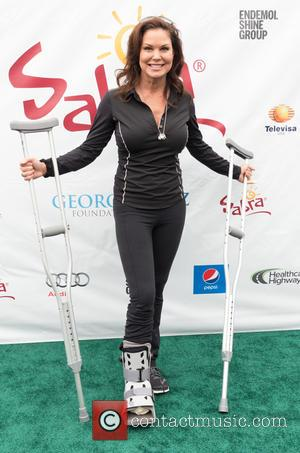Paula Trickey - The eighth annual George Lopez Celebrity Golf Classic presented by Sabra - Arrivals at Lakeside Golf Club...