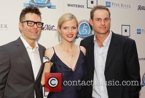 Bobby Bones, Brooklyn Decker and Andy Roddick