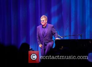 Elton John - Andy Roddick Foundation Gala 2015 held at ACL Live in Austin at ACL Live - Austin, Texas,...