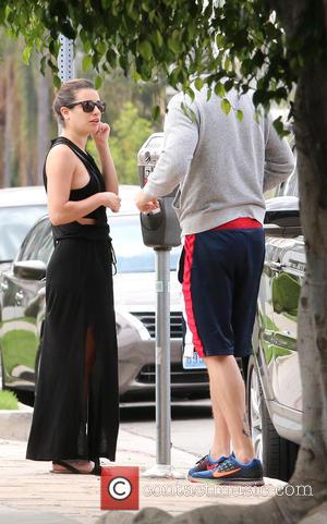 Lea Michele and Matthew Paetz