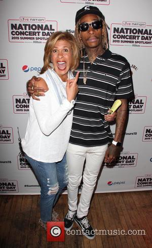 Hoda Kotb and Wiz Khalifa