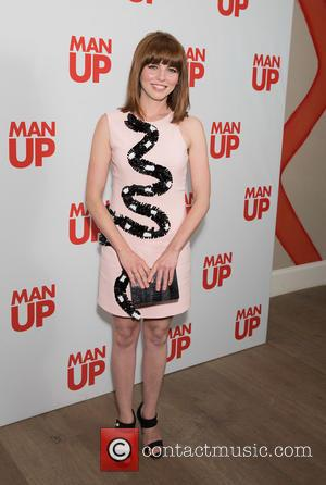 Ophelia Lovibond - VIP screening of 'Man Up' at Ham Yard Hotel - Arrivals at Ham Yard Hotel - London,...