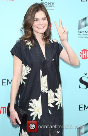 Betsy Brandt - A host of stars were snapped as they arrived for a screening of Showtime and Sony Pictures...