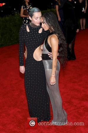 Zoe Kravitz and Miley Cyrus