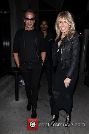 Lisa Gastineau and Lloyd Klein - Celebrities enjoy a night out at Craig's restaurant in West Hollywood - Los Angeles,...