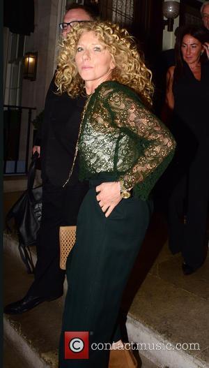 Kelly Hoppen - Kelly Hoppen leaving 34 restaurant in Mayfair at MAYFAIR - London, United Kingdom - Tuesday 5th May...