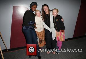 Bibiana Mbuchi, Camryn Manheim, Tindy Mbuchi and Guest