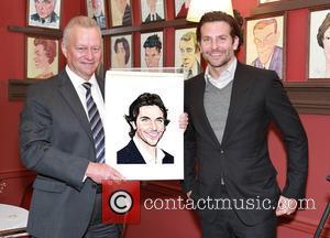 Max Klimavicius and Bradley Cooper
