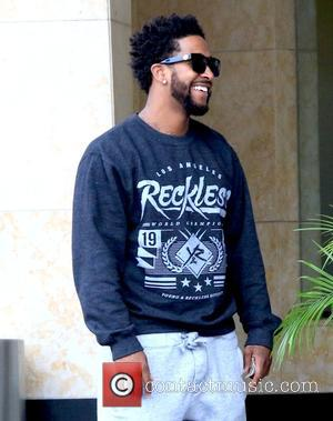 Omarion - B Howard and Omarion outside the Loews Hotel in Hollywood - Los Angeles, California, United States - Wednesday...