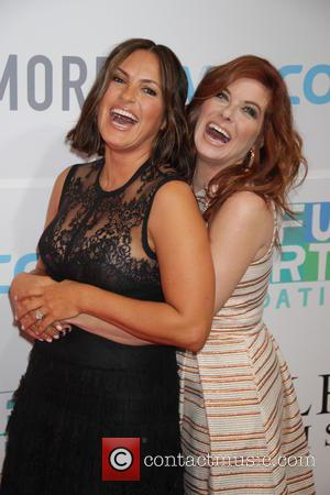 Mariska Hargitay and Debra Messing