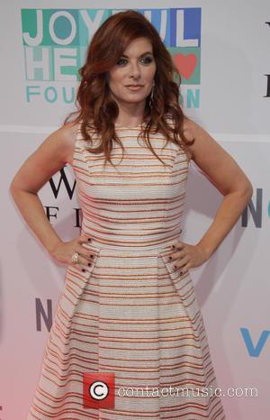 Debra Messing - Mariska Hargitay's Joyful Heart Foundation hosts Joyful Revolution Gala - Red Carpet Arrivals at Spring Studios -...