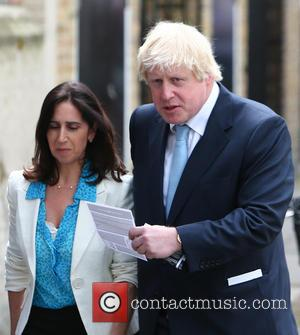 Boris Johnson and Marina Wheeler