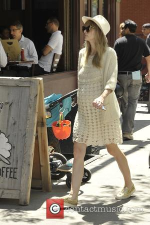 American actress and model Jaime King who has starred in movies such as 'White Chicks' and 'Sin City' was snapped...
