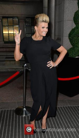 Kerry Katona - Celebrities arrive at the Palace Hotel Manchester for the Miss Manchester Finals. - Manchester, United Kingdom -...