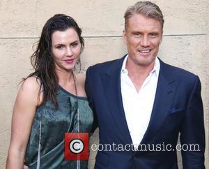 Jenny Sanderssen and Dolph Lundgren