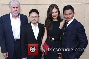Ron Perlman, Ekachai Uekrongtham, Celina Jade and Tony Jaa