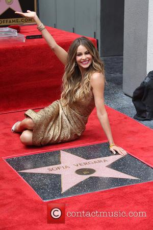 A Thrilled Sofia Vergara Lands A Star On The Hollywood Walk Of Fame