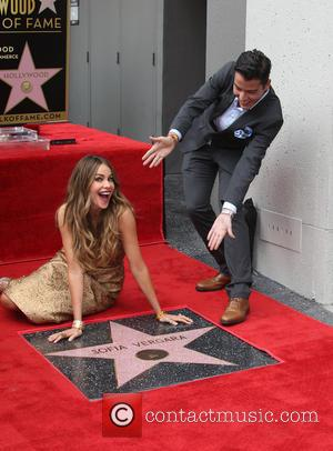 Sofia Vergara - Sofia Vergara honored with a star on the Hollywood Walk of Fame at ON THE HOLLYWOOD WALK...