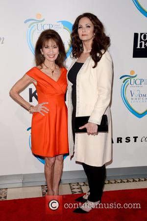 Susan Lucci and Lynda Carter