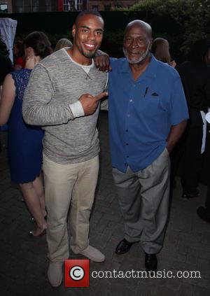 Rashad Jennings and John Amos