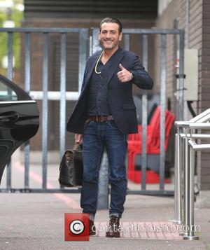 Chris Gascoyne - Chris Gascoyne outside ITV Studios - London, United Kingdom - Thursday 7th May 2015