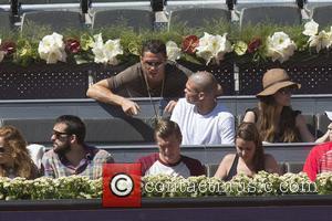 Cristiano Ronaldo, Toni Kroos and Jessica Farber