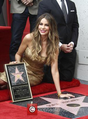 Sofia Vergara - Colombian actress Sofia Vergara who has recently starred in 'Hot Pursuit' with Reese Witherspoon was honored with...