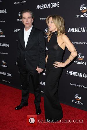 Timothy Hutton and Felicity Huffman