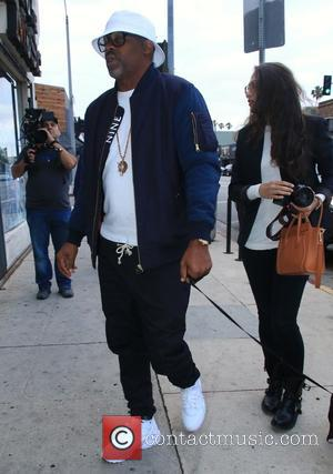 Dame Dash - Dame Dash, Boogie Dash, Angela Simmons on the set of their new TV reality show at Live...