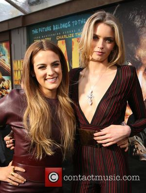 Riley Keough and Abbey Lee