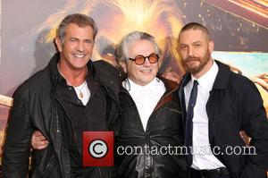 Mel Gibson Supports New Mad Max Tom Hardy At Premiere