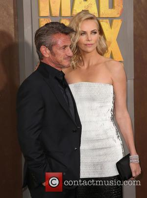 Sean Penn and Charlize Theron - Premiere of 'Mad Max: Fury Road' - Arrivals at TCL Chinese Theatre IMAX -...