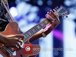 Gary Clark Jr - A host of artists were photographed as they performed at the 2015 Rock In Rio USA...