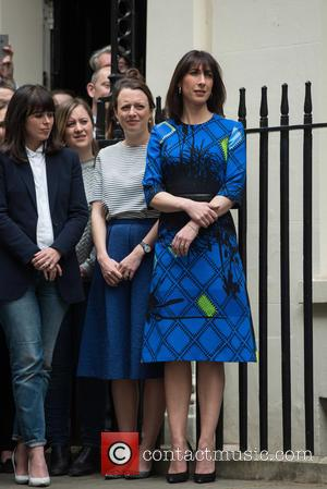 Samantha Cameron - Prime Minister David Cameron returns to Downing Street after the General Elections. - London, United Kingdom -...