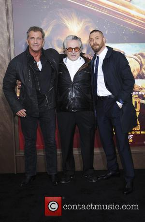 Mel Gibson, George Miller and Tom Hardy