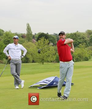 Brian McFadden - The ISPS Handa Mike Tindall 3rd Annual Celebrity Golf Classic at Celebrity Golf Classic - London, United...