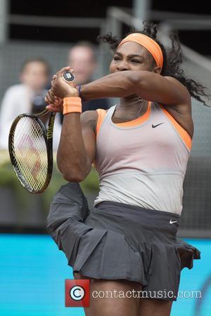 Serena Williams - Mutua Madrid Open Tennis Tournament - Petra Kvitova vs. Serena Williams at the Caja Magica - Day...
