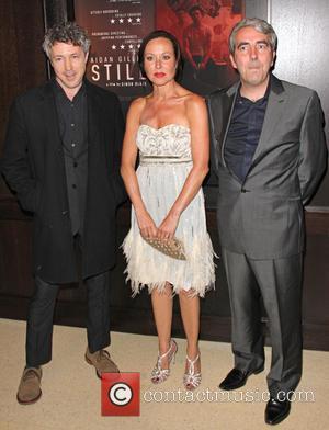 Aidan Gillen, Amanda Mealing and Simon Blake